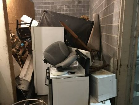 old appliance removal