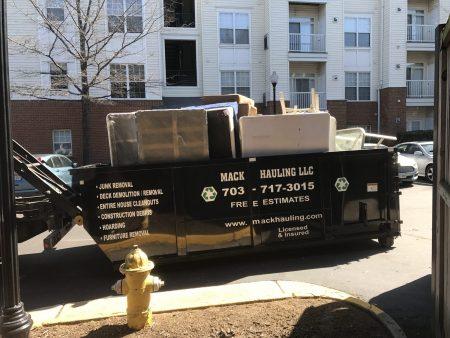 junk removal fairfax, va
