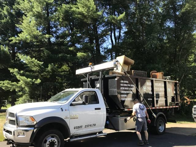 House Clean Out in McLean, VA   Mack Hauling LLC